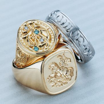 Gold Signet Ring Sydney